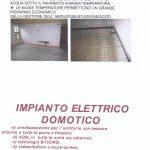 Impianto elettrico domotico