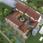 Visuale dall'alto Palazzo Boer